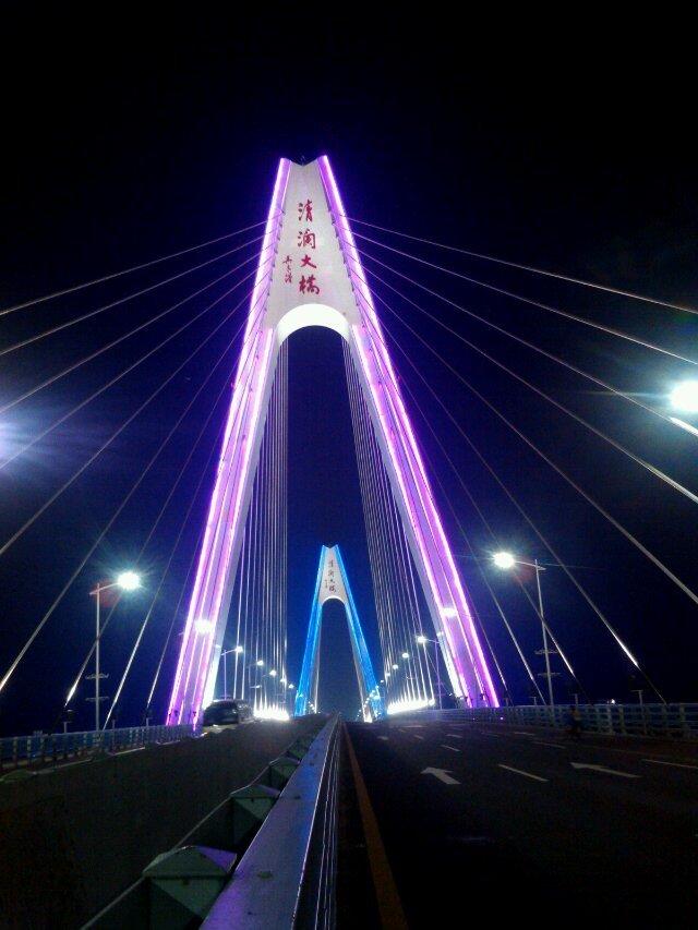 文昌清澜大桥亮化工程