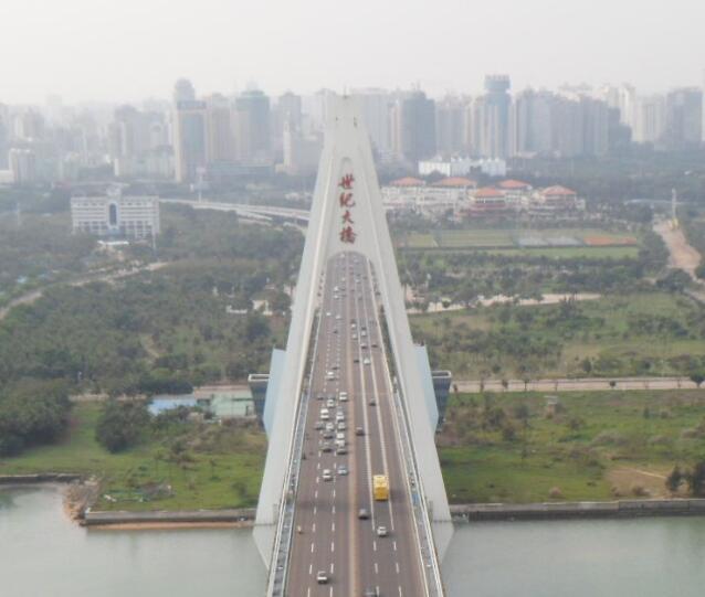 海口大桥加固维修